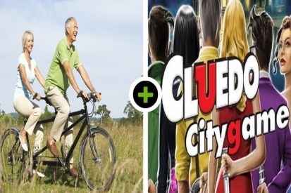 Tandemspeurtocht - Lunch - Cluedo City Game