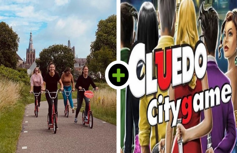Stepspeurtocht - Cluedo City Game