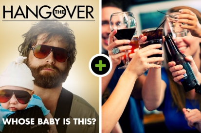 The Hangover in Utrecht! Incl. 1 uur borrelarrangement