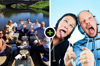Luxe sloep varen - Lunch - Crazy 88