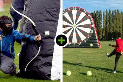 Archery Tag - Voetbal Darten