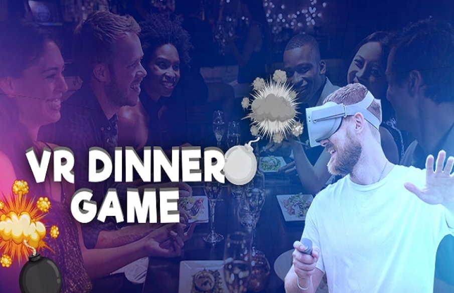 VR Dinner Game: Defuse the Bomb